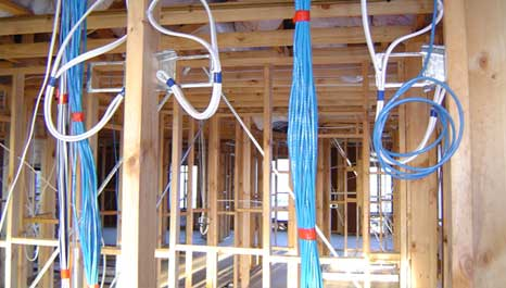 New Home Wiring Cable New Construction Wiring New Home Electrician Quality Service Provider Of Domestic Wiring For Appartment And Wiring Up A New House With Ethernet A Walk Through Smart Cabling For